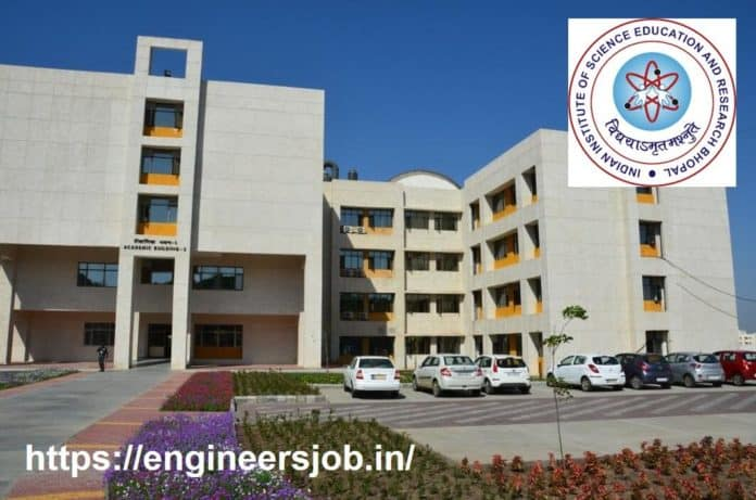 JRF position at IISER Bhopal - Apply by 5th October 2020